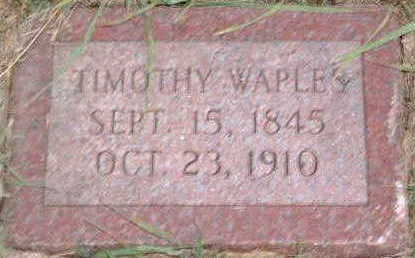 WAPLES, TIMOTHY - Monona County, Iowa | TIMOTHY WAPLES