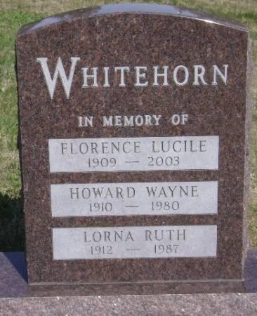 WHITEHORN, LORNA RUTH - Monona County, Iowa   LORNA RUTH WHITEHORN