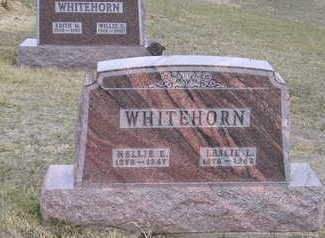 BUSBY WHITEHORN, NELLIE ELIZABETH - Monona County, Iowa | NELLIE ELIZABETH BUSBY WHITEHORN