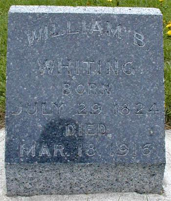 WHITING, WILLIAM - Monona County, Iowa | WILLIAM WHITING