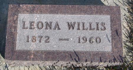 WILLIS, LEONA - Monona County, Iowa   LEONA WILLIS