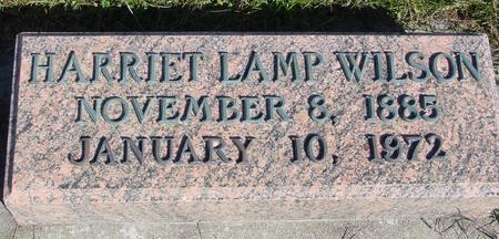 LAMP WILSON, HARRIET - Monona County, Iowa | HARRIET LAMP WILSON