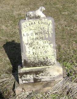 WINGATE, CLARA LOUISA - Monona County, Iowa | CLARA LOUISA WINGATE