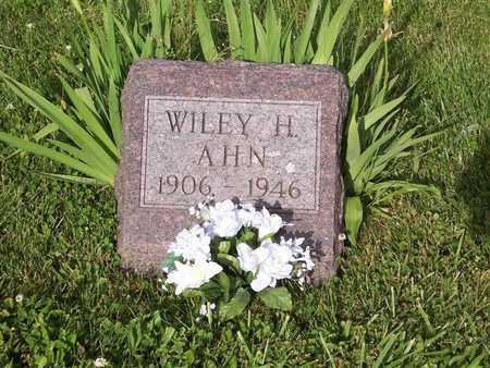 AHN, WILEY - Monroe County, Iowa | WILEY AHN