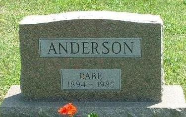 LANE ANDERSON, CHRISTINA