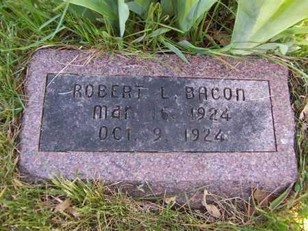 BACON, ROBERT L. - Monroe County, Iowa | ROBERT L. BACON