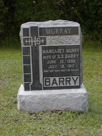BARRY, MARGARET M. - Monroe County, Iowa | MARGARET M. BARRY