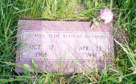 BAUGHER, GLADYS JULIE - Monroe County, Iowa | GLADYS JULIE BAUGHER