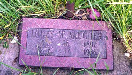 BAUGHER, LONEY MANUEL - Monroe County, Iowa | LONEY MANUEL BAUGHER