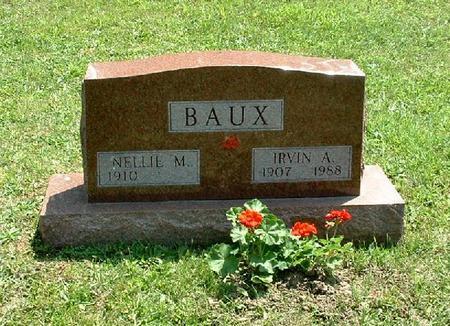 BAUX, IRVIN A - Monroe County, Iowa | IRVIN A BAUX