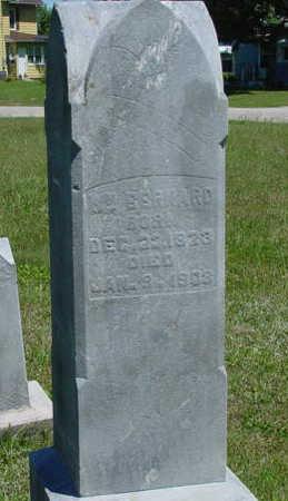 BERNARD, WILLIAM - Monroe County, Iowa | WILLIAM BERNARD