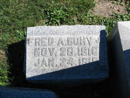 BOHY, FRED A. - Monroe County, Iowa | FRED A. BOHY