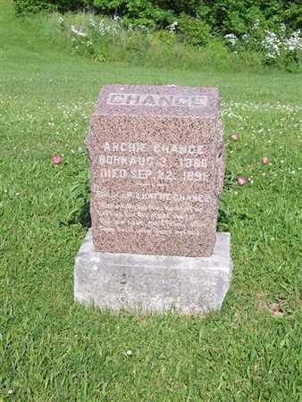 CHANCE, ARCHIE - Monroe County, Iowa   ARCHIE CHANCE