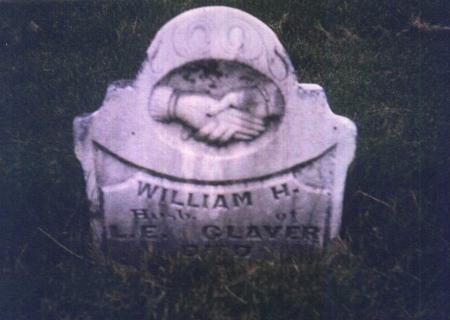 CLAVER, WILLIAM HENRY - Monroe County, Iowa | WILLIAM HENRY CLAVER