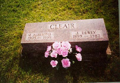 DAY CLEAIR, M. ALBERTHA - Monroe County, Iowa | M. ALBERTHA DAY CLEAIR