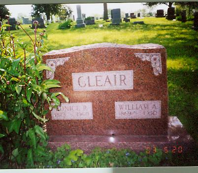 CLEAIR, EUNICE - Monroe County, Iowa | EUNICE CLEAIR