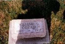 COZAD, WILLIAM GRANT - Monroe County, Iowa   WILLIAM GRANT COZAD