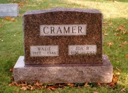 CRAMER, WADE & IDA - Monroe County, Iowa | WADE & IDA CRAMER