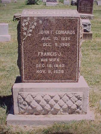 HENDRIX, FRANCES JANE - Monroe County, Iowa | FRANCES JANE HENDRIX
