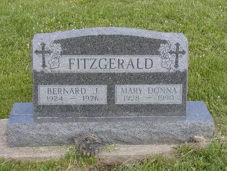 FITZGERALD, MARY DONNA - Monroe County, Iowa | MARY DONNA FITZGERALD