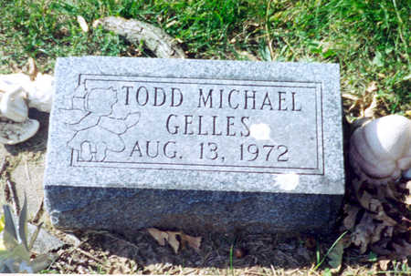 GELLES, TODD MICHAEL - Monroe County, Iowa   TODD MICHAEL GELLES