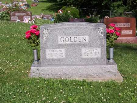 GOLDEN, AGNES S. - Monroe County, Iowa | AGNES S. GOLDEN