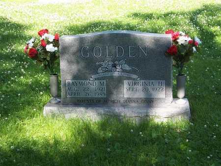 GOLDEN, VIRGINIA H. - Monroe County, Iowa | VIRGINIA H. GOLDEN