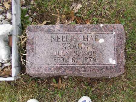GRAGG, NELLIE MAE - Monroe County, Iowa   NELLIE MAE GRAGG