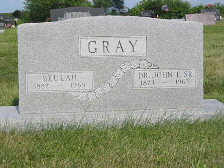 GRAY, BEULAH - Monroe County, Iowa | BEULAH GRAY