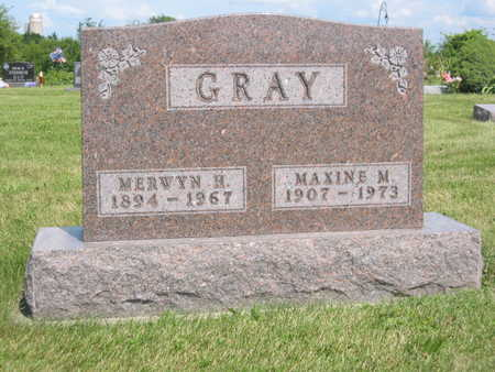 GRAY, MAXINE M. - Monroe County, Iowa | MAXINE M. GRAY