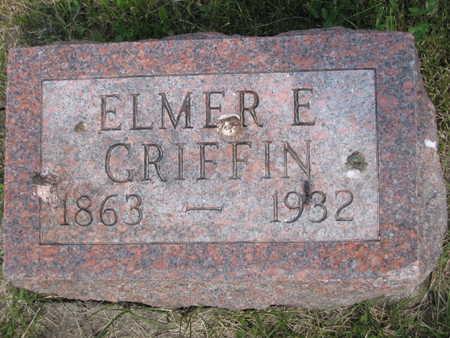 GRIFFIN, ELMER ELLSWORTH - Monroe County, Iowa | ELMER ELLSWORTH GRIFFIN
