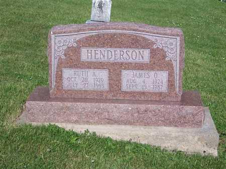 HENDERSON, JAMES O. - Monroe County, Iowa | JAMES O. HENDERSON