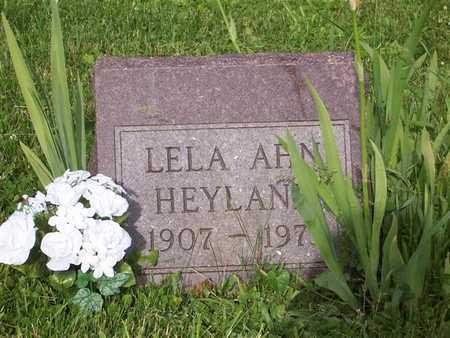SPINKS HEYLAND, LELA - Monroe County, Iowa | LELA SPINKS HEYLAND