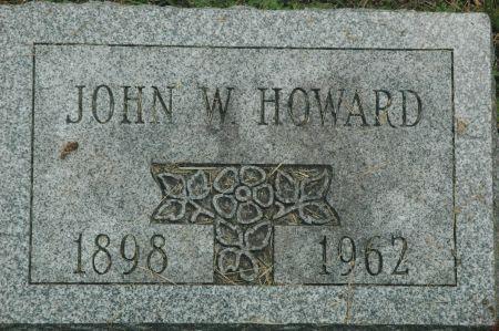 HOWARD, JOHN  W. - Monroe County, Iowa | JOHN  W. HOWARD