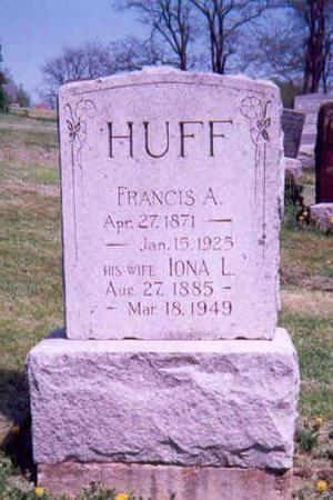 HUFF, FRANCIS A AND IONA L - Monroe County, Iowa | FRANCIS A AND IONA L HUFF