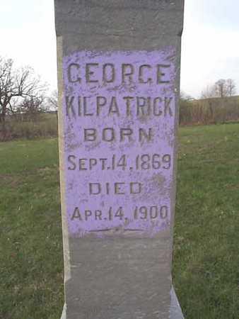 KILPATRICK, GEORGE - Monroe County, Iowa | GEORGE KILPATRICK