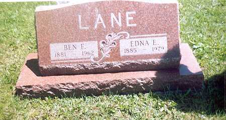 LANE, BENJAMIN - Monroe County, Iowa | BENJAMIN LANE