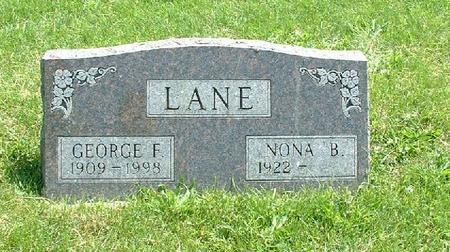 LANE, GEORGE F. - Monroe County, Iowa   GEORGE F. LANE
