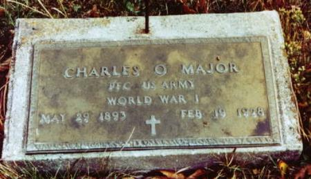 MAJOR, CHARLES O. - Monroe County, Iowa | CHARLES O. MAJOR