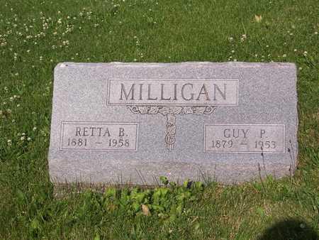 MILLIGAN, GUY P. - Monroe County, Iowa | GUY P. MILLIGAN