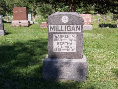 MILLIGAN, WARREN M. - Monroe County, Iowa | WARREN M. MILLIGAN