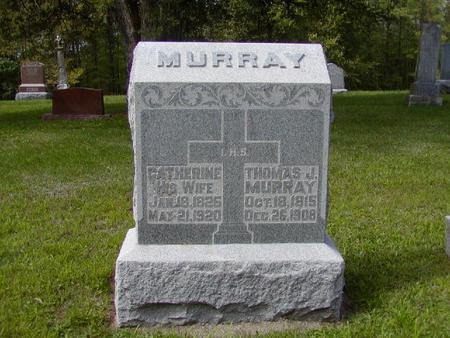 MURRAY, THOMAS J. - Monroe County, Iowa | THOMAS J. MURRAY