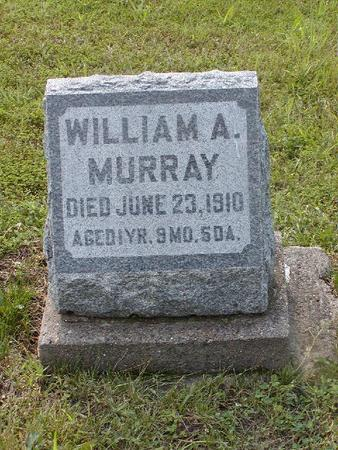 MURRAY, WILLIAM A. - Monroe County, Iowa | WILLIAM A. MURRAY