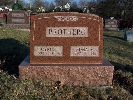 STEWART PROTHERO, EDNA M. - Monroe County, Iowa | EDNA M. STEWART PROTHERO