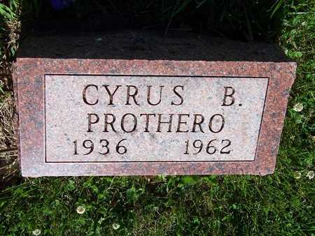 PROTHERO, CYRUS B. - Monroe County, Iowa | CYRUS B. PROTHERO
