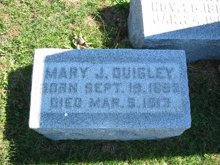 HEADY QUIGLEY, MARY JANE - Monroe County, Iowa | MARY JANE HEADY QUIGLEY