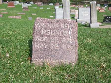 ROUNDS, ARTHUR BERT - Monroe County, Iowa | ARTHUR BERT ROUNDS