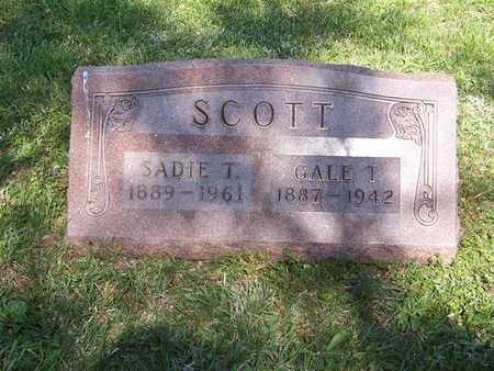 SCOTT, GALE T. - Monroe County, Iowa | GALE T. SCOTT
