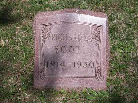 SCOTT, RICHARD G. - Monroe County, Iowa | RICHARD G. SCOTT