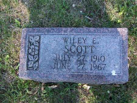 SCOTT, WILEY E. - Monroe County, Iowa | WILEY E. SCOTT